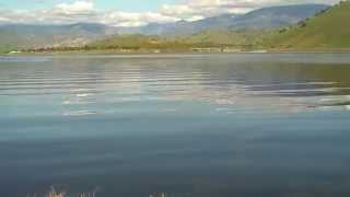 Success Lake Porterville California (panning video 07)