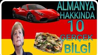 Almanya Hakkında 10 Gerçek Bilgi