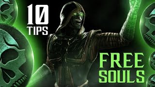 [BEGINNER] 10 TIPS How to Get FREE SOULS on Mortal Kombat X Mobile iOS/Android (NO HACK)