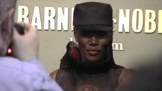 Grace Jones Wild Book Signing / NYC