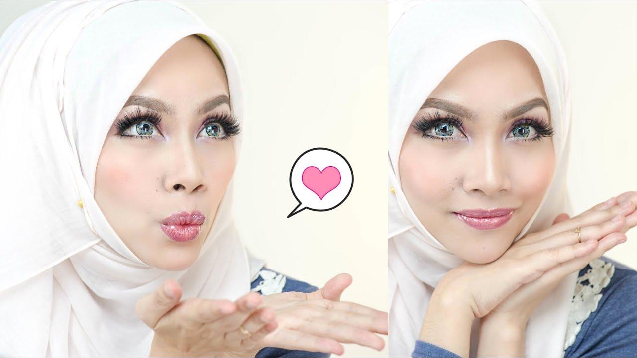 Mekap Mata Nampak Besar - Hijabi Doll Collection - YouTube