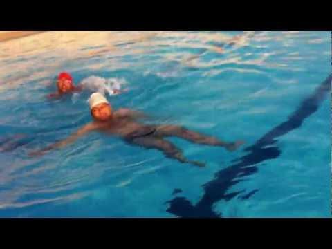 Aqua Yoga in Swimming Pool by Dr RKM