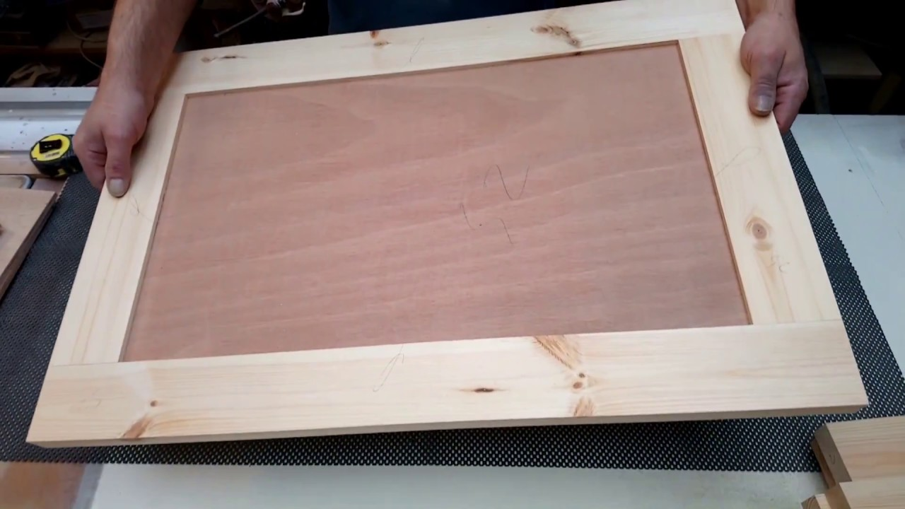 Making Shaker Style Cabinet Doors With A Festool Domino