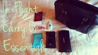 Carry On Essentials || How to pack your Hand Luggage