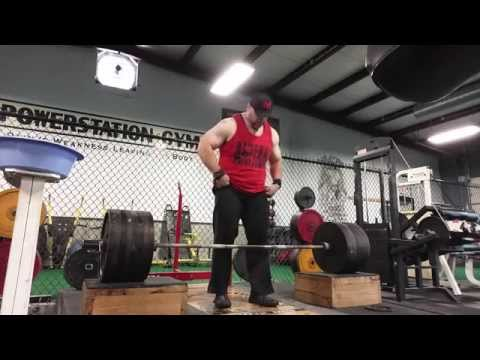 765 Block Pull PR - Below the Knee (With a Snapped Up Back)