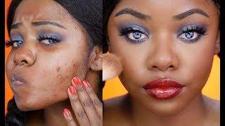 GRWM Rihanna Wild Thoughts Inspired Makeup | Cydnee Black