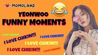 Yeonwoo (MOMOLAND) | Funny Moments