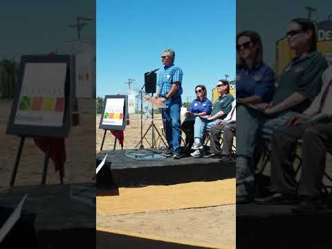 Imperial Valley Food Bank Ground Breaking Speach