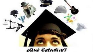 Orientación Vocacional - (Como saber que carrera estudiar)