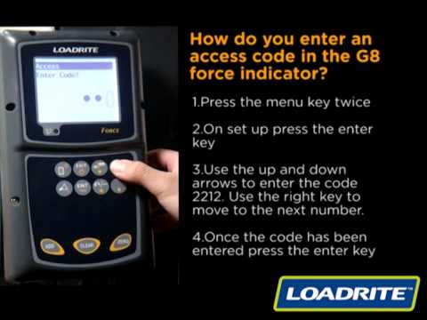 loadrite force wheel loader scale access code youtube rh youtube com Bucket Scales for Loaders Bucket Scales for Loaders