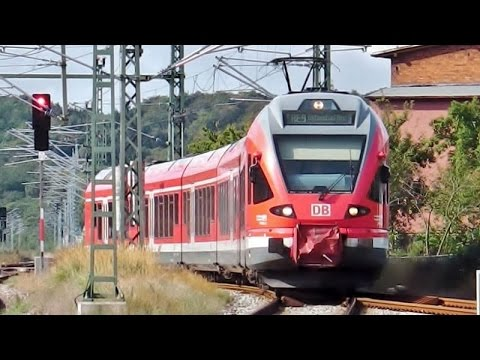 """Lietzow auf Rügen mit DB FLIRT (Regionalexpress), ICE """"Meißen"""", ICs"""