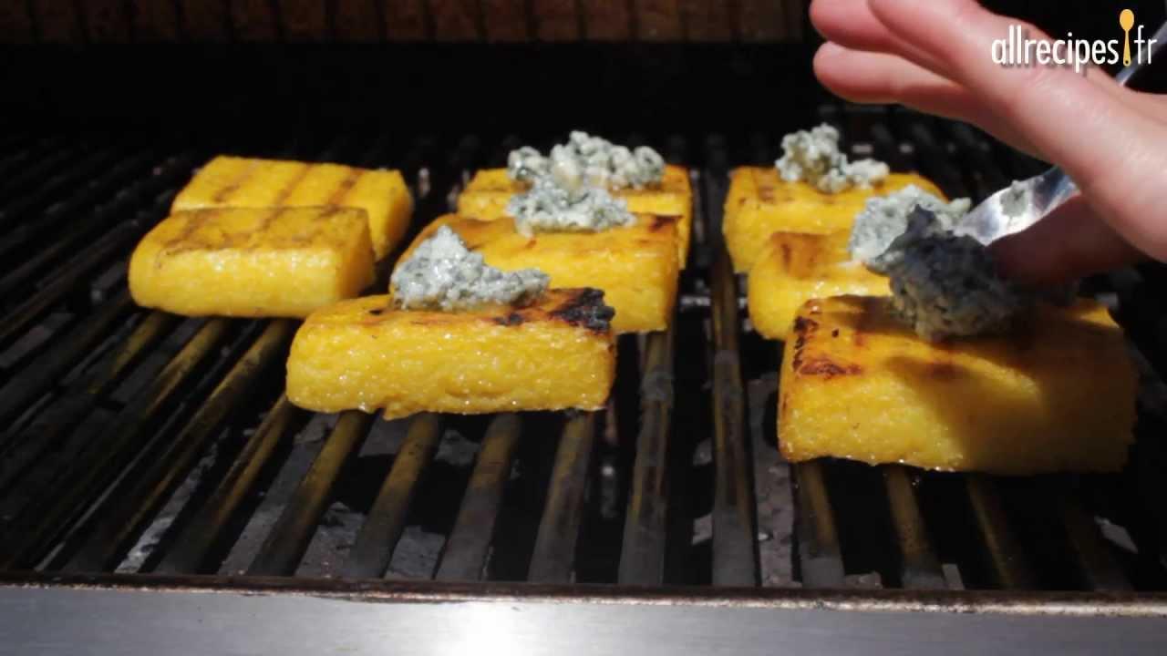 Recette pour faire de la polenta grill e au barbecue youtube - Recette queue de langouste grillee au barbecue ...