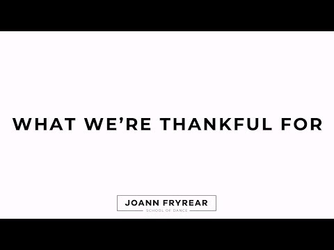 What Our Students are Thankful For