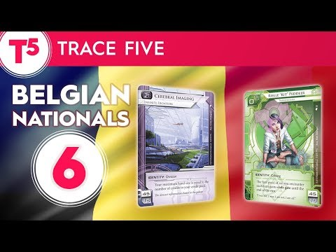 Netrunner Belgian Nationals 2017 - #6 - Finals