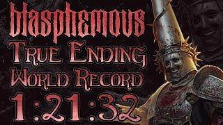 Blasphemous True Ending Glitchless World Record Speedrun 1:21:32