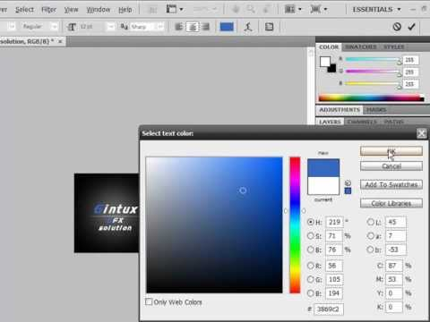 PhotoShop tutorial: How to create quite cool buth simple forum avatar