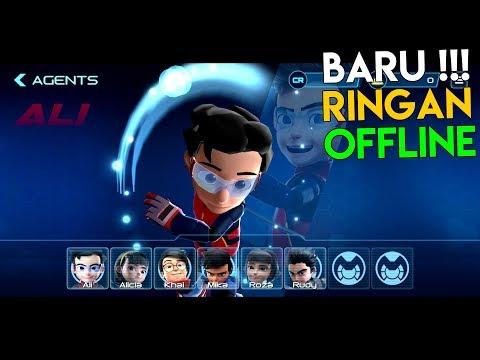 BARU ! Game OFFLINE Dari Kartun Viral Indonesia ! | Ejen Ali Agents Arena