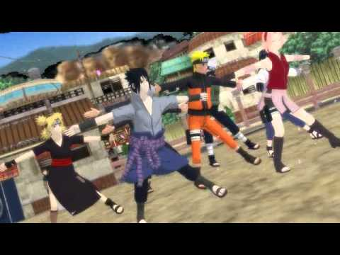 MMD NARUTO TIMBER