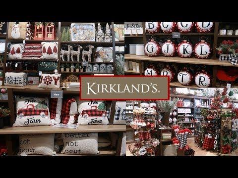Kirklands Christmas Decor 2019 Shop With Me Youtube