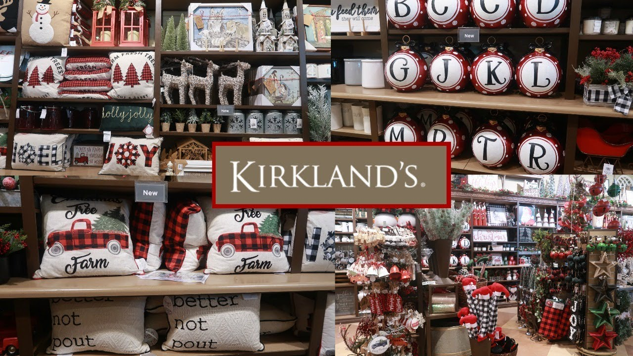 KIRKLANDS CHRISTMAS DECOR 2019 / SHOP WITH ME - YouTube on Kirkland's Home Decor id=82416