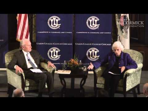 Sandra Day O'Connor and David Hiller - Union League Club Chicago