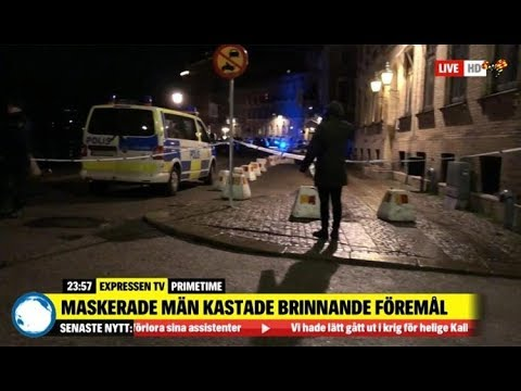 Última Hora: La Guerra Santa Llega a Europa, 10 encapuchados ATACAN una sinagoga