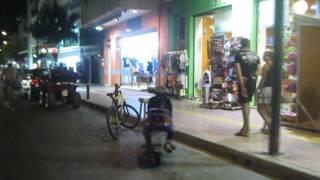 Греция, Крит 2012, Херсониссос - Едем по ночному городу на квадроцикле(, 2013-08-09T18:18:28.000Z)