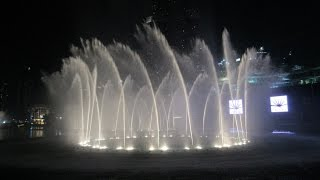 Dubai Fountain Dubai Mall Downtown Wasserspiele Burj Khalifa Lake Fontaine de Dubaï  نافورة دبي