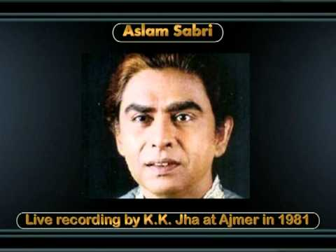 Aap Kyun Pareeshan Hain - Kawwali - Aslam Sabri - Live At Ajmer In 1981
