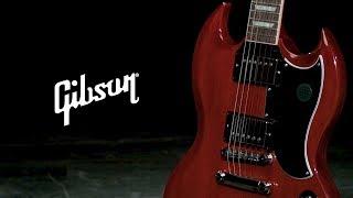 Gibson SG Standard 61, Vintage Cherry   Gear4music demo