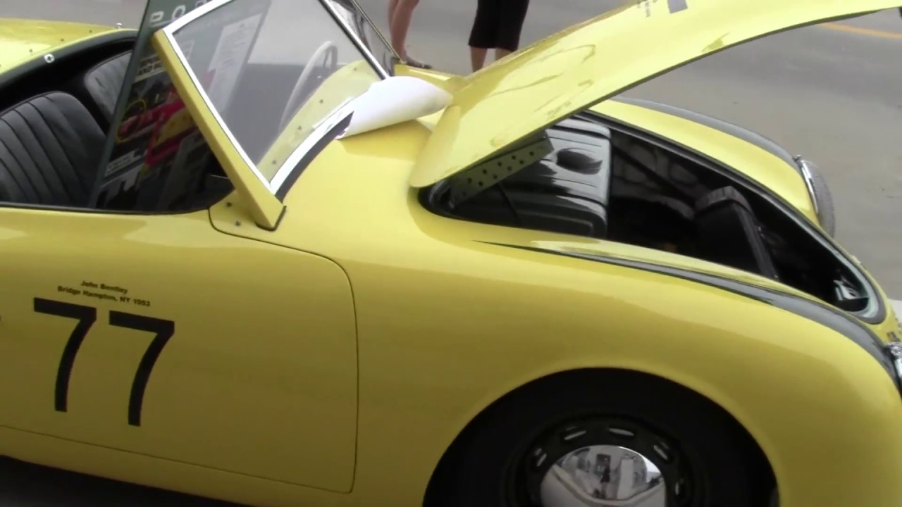 Porsche 356 Registry Holiday in the land - YouTube