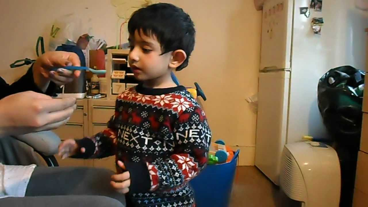 Autism. 2 1/2 year old autistic boy. 3 weeks on a changed diet. - YouTube