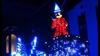 Paint the Night parade FULL SHOW opening night of Pixar Fest at Disney California Adventure