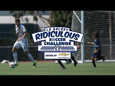 Ride-along with Steven Gerrard | LA Galaxy Ridiculous Soccer Challenge - driven by Chevrolet
