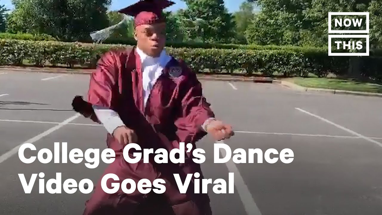 A Canceled Ceremony Didn't Stop This Grad From Celebrating | NowThis