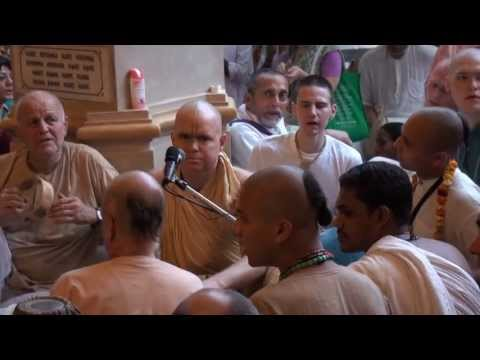 Aindra Prabhu kirtan on 19th of March 2010 Shri Vrindavan dham