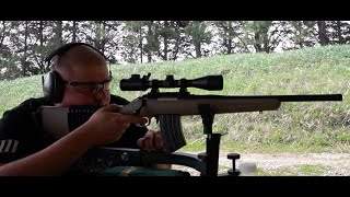 Pinty Pro 3-9x40, Ruger Ranch 7.62x39, Wolf 123 gr FMJ LCB Range Test at 100 yds!