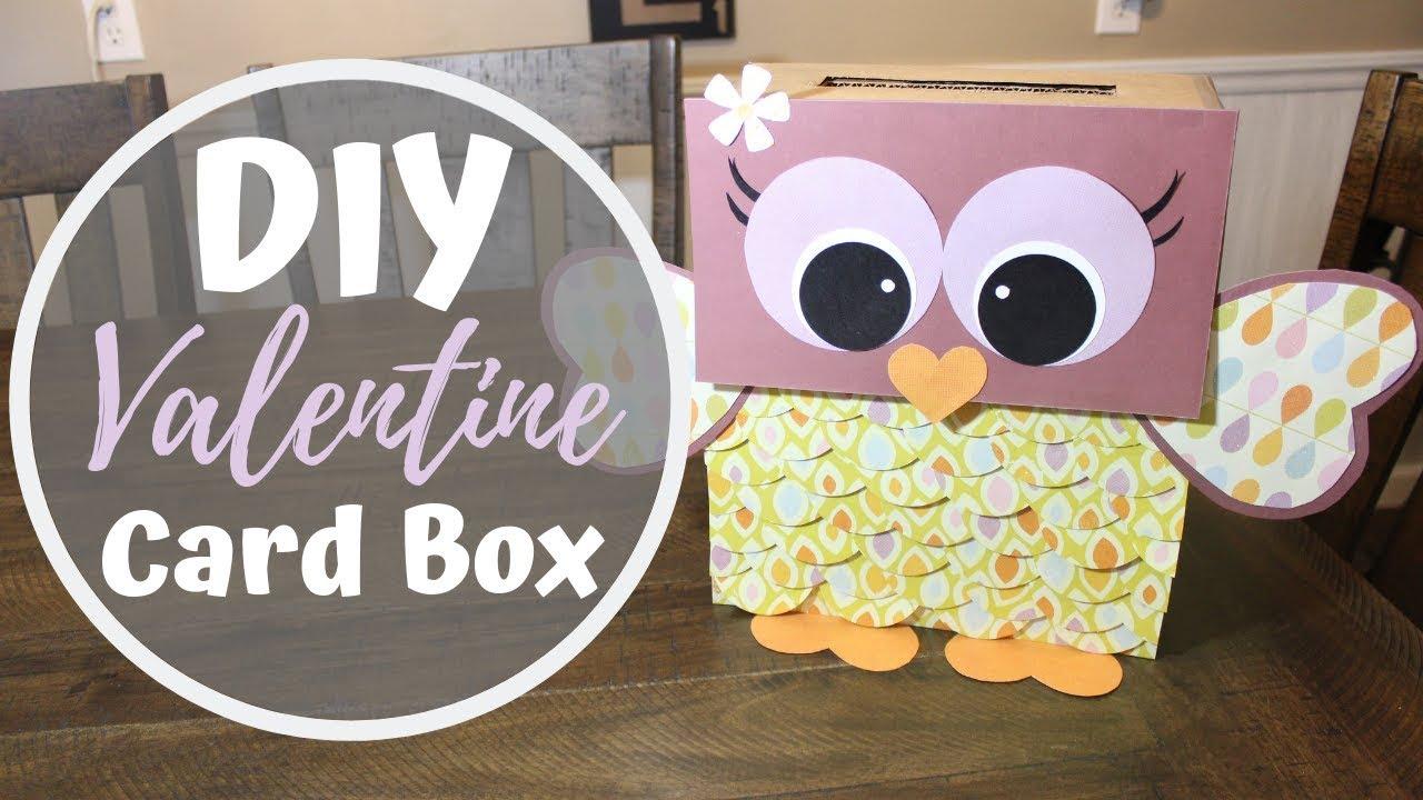 DIY VALENTINE CARD BOX   Owl Valentine