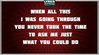 Fade - Staind tribute - Lyrics