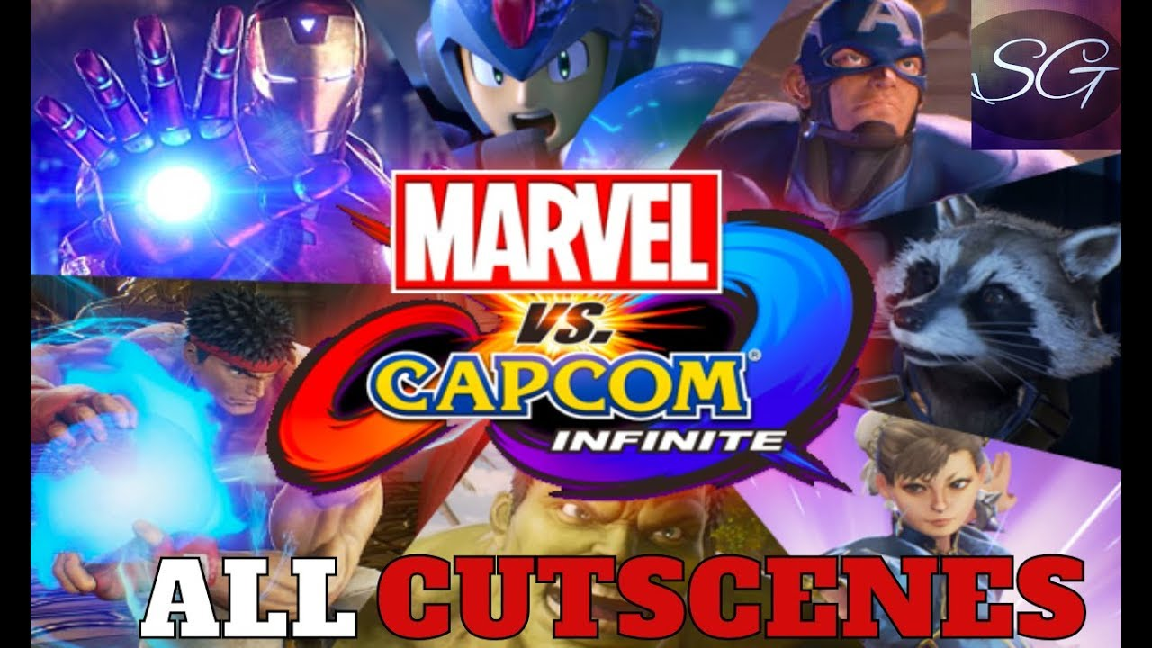 Marvel Vs Capcom Infinite All Cutscenes 1080p Full
