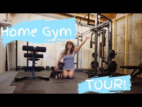 HOME GYM TOUR | Gym Equipment | Costco & Walmart |