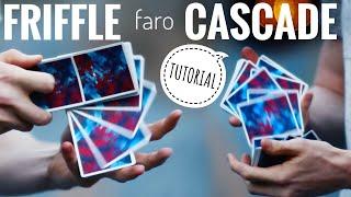 FARO, FRIFFLE & CASCADE SHUFFLE // Cardistry Tutorial