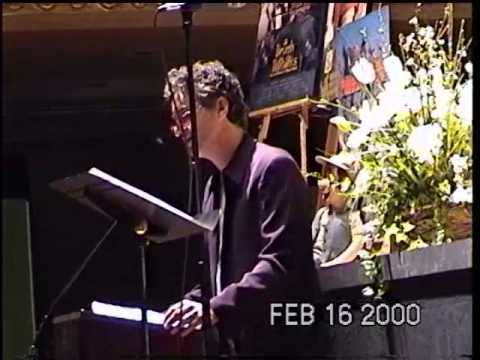 Daniel Butler Speech at Jim Varney Memorial - Feb 16, 2000