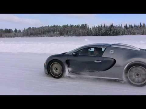Bugatti Veyron 16.4 Cold test Sweden 3