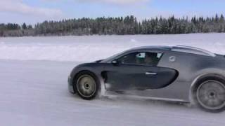 Bugatti Veyron 16.4 Cold test Sweden 3