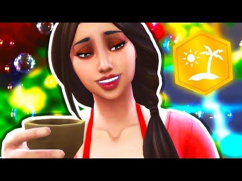 THINGS JUST GOT WEIRD 🍻 // The Sims 4: Island Living #5