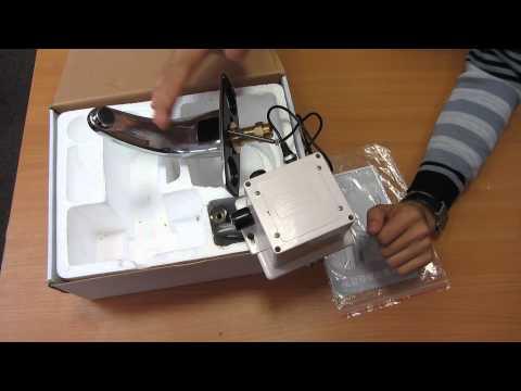 Кран с фотоэлементом, бесконтактный кран