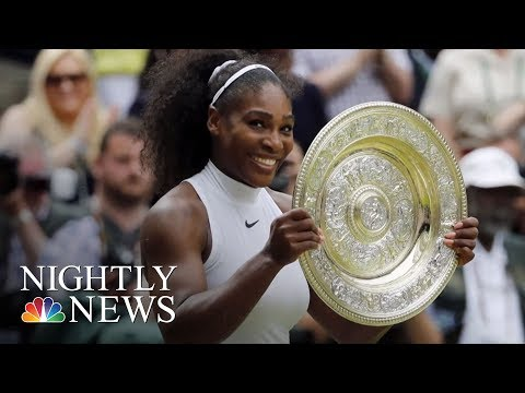 Serena Williams Shares Her Harrowing Childbirth Story | NBC Nightly News