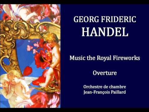 HANDEL - PAILLARD Music the Royal Fireworks