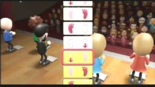 Wii Fit Step Dance Play